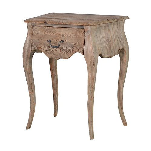 Provincial Reclaimed Pine Bedside Table