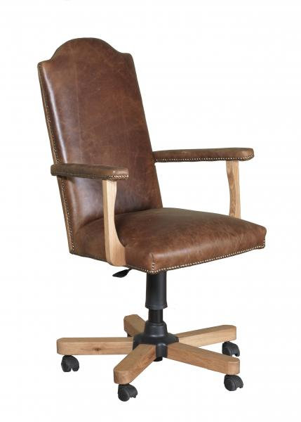 Office Chair In Cerato Leather