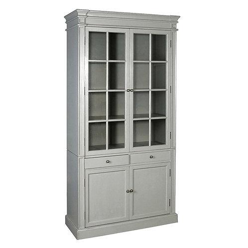 Shaker Grey Glazed Bookcase