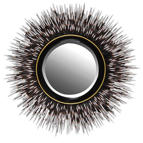 Black Porcupine Mirror