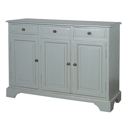 Shaker Grey 3 Door Sideboard