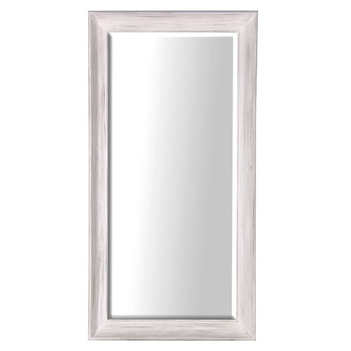 Large White Deep Frame Mirror