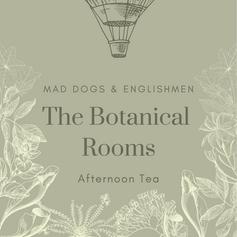 The Botanical Rooms afternoon tea menu
