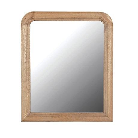 Weathered Oak Large Mirror