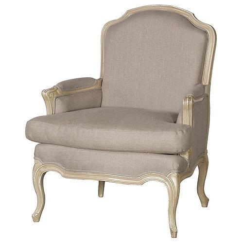 Sorrento Sofa Chair Linen Upholstered
