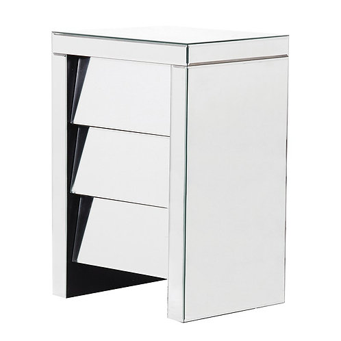 Venetian Nuovo Angled 3 Drawer Bedside