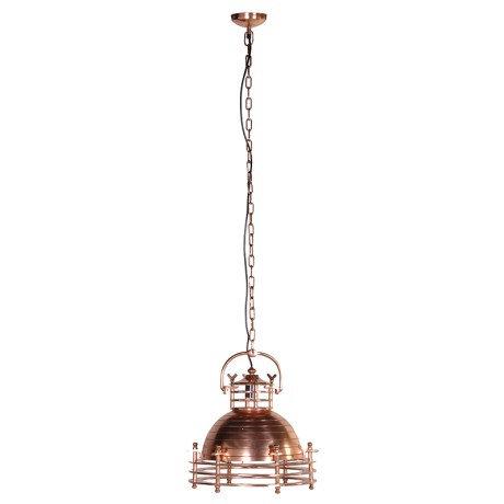 Copper Industrial Hanging Light
