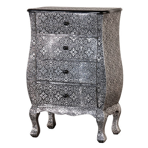 Silver Embossed Chest
