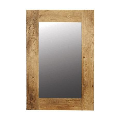 Large Elm Mirror