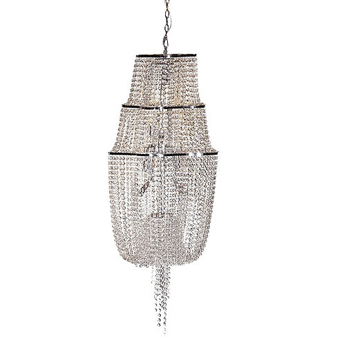 Small Crystal Tier Chandelier