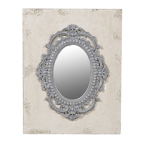 Mirror In Distressed Frame