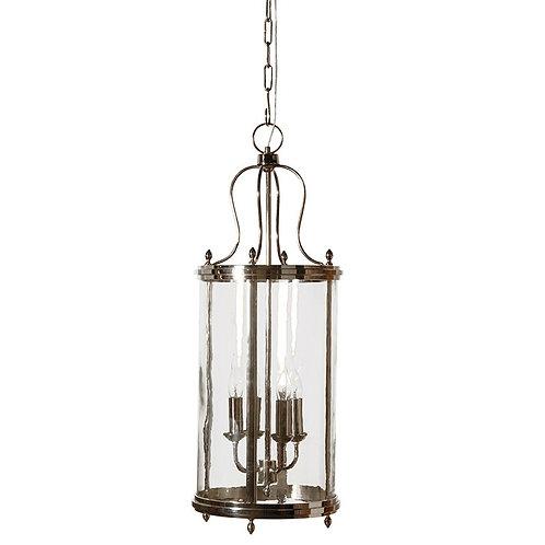 Nickel Finish Heritage Lantern