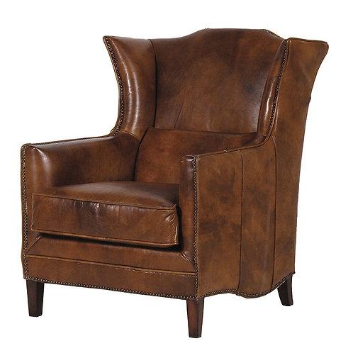Cuban Cigar Leather Armchair