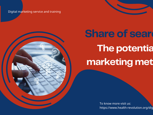Share of search: The potential marketing metric