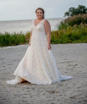 Curvybride, Plussize Brautmode, Hochzeitskleid