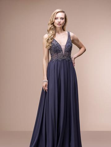 Abschlussball- Kleid