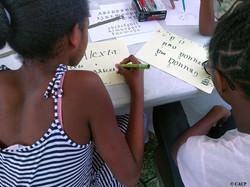 Ateliers calligraphie enfants
