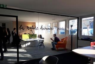 Cloison vitrée pour le showroom Blanchet Dhuismes près de Nantes