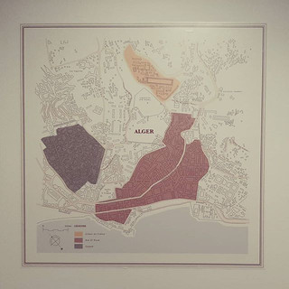 Plans d'Alger pour la Biennale d'Architecture d'Orléans #2 / Frac Centre