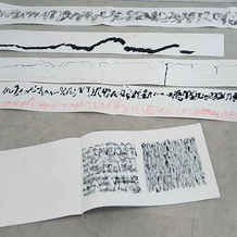 """Stage de calligraphie / ESAD Orléans / """"Du geste dans la ligne"""""""