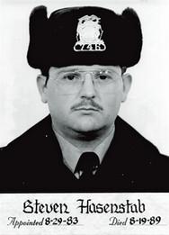 Police Officer Steven John Hasenstab