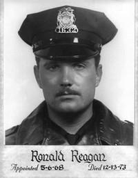 Police Officer Ronald Reagan