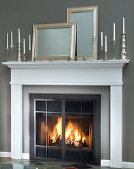 Pre-fabricated Fireplace