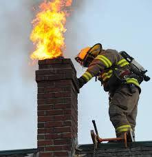 Fire danger in chimney