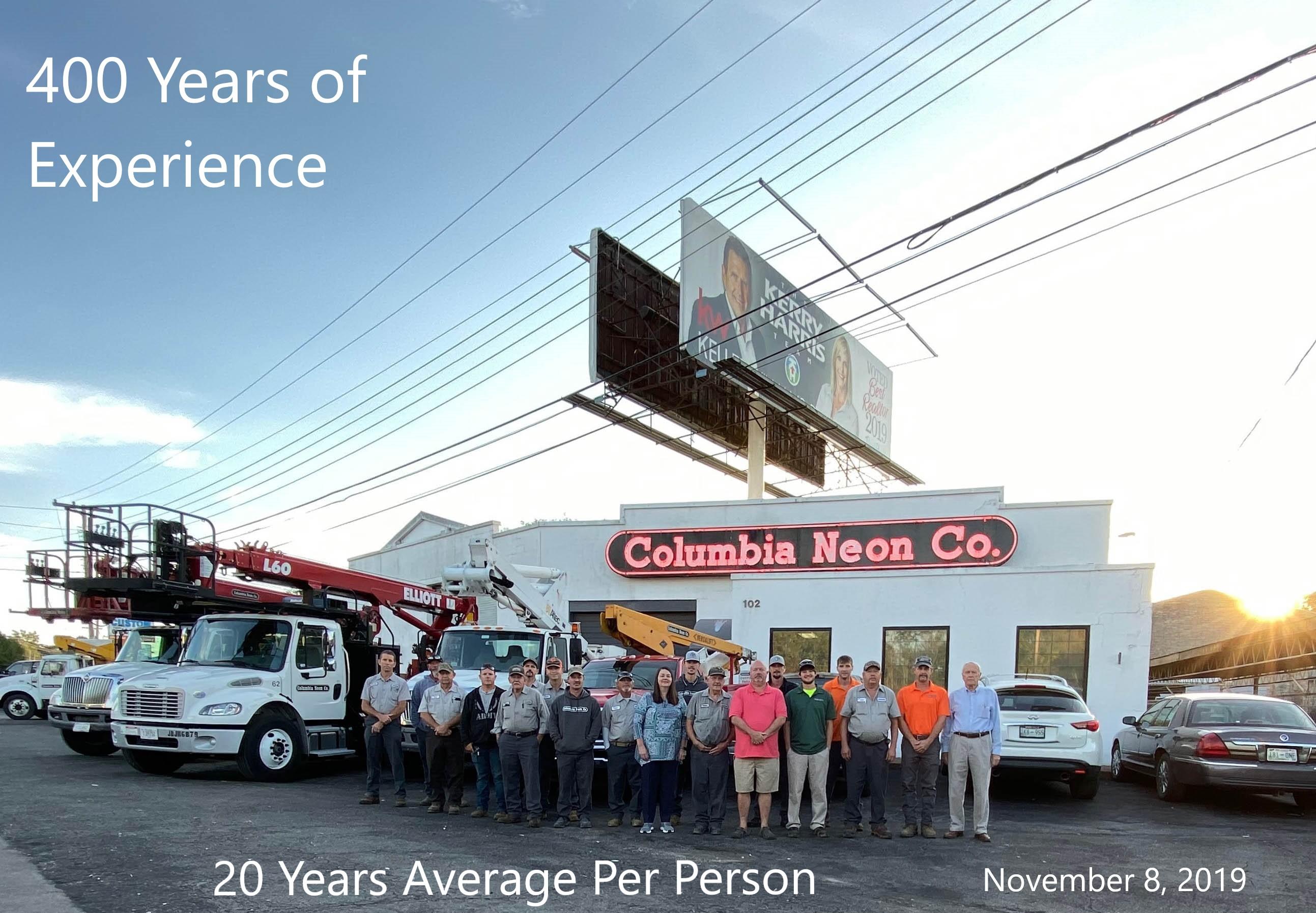Columbia Neon Photo