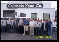 COLUMBIA NEON 2006