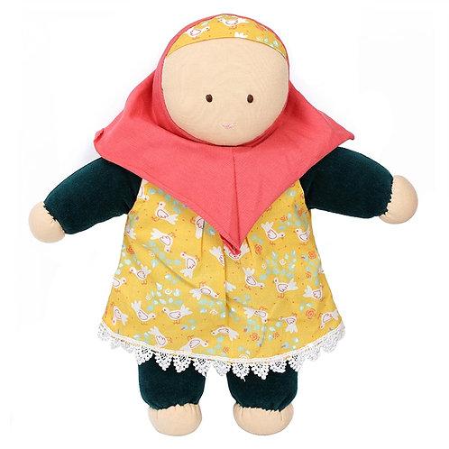 Puppe Safjia aus 100% Bio-Baumwolle!
