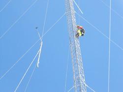 Lattice Tower Boom Installation