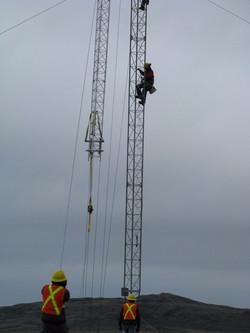 Lattice Tower Installation