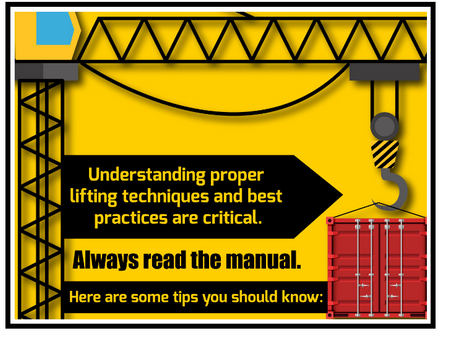 Quick Tips For Ensuring Safe Crane Lifts