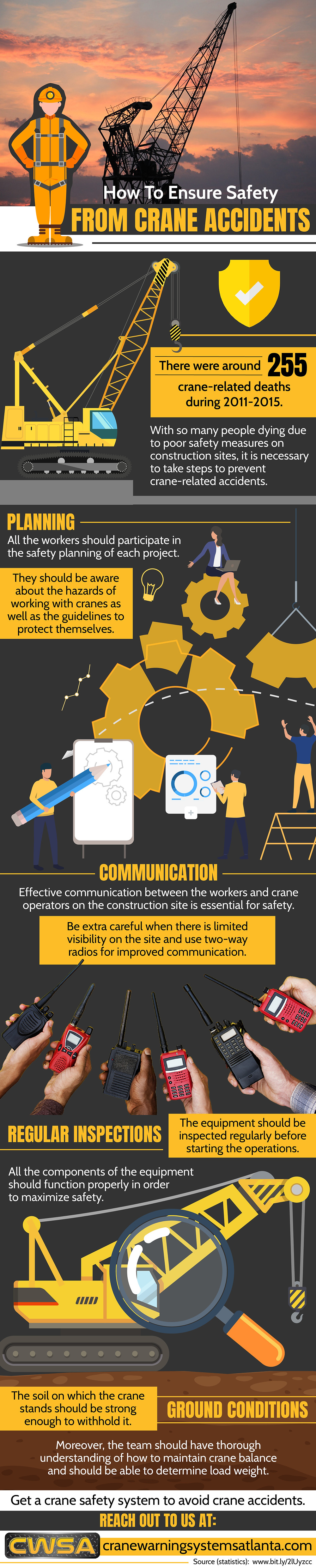 How to ensure safety from crane accidents