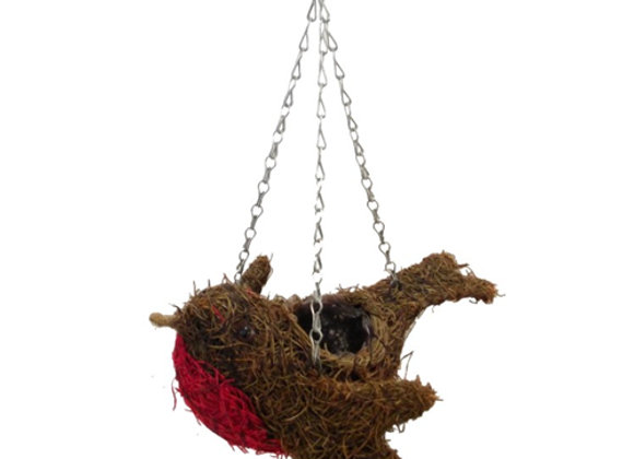 Natural Hanging Robin Planter