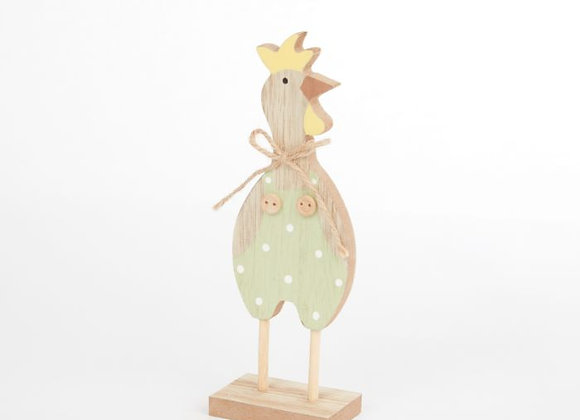 Standing wooden Chicken