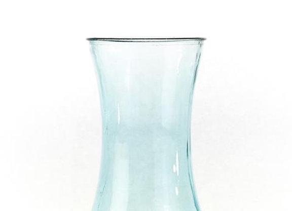 Blue Serena Hand Tied Vase