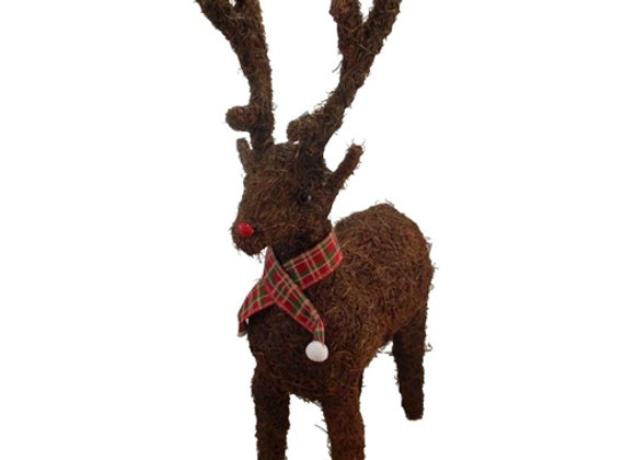 Natural Standing Reindeer