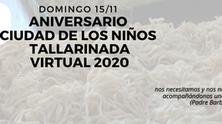 Aniversario Ciudad de los Niños y tallarinada virtual 2020