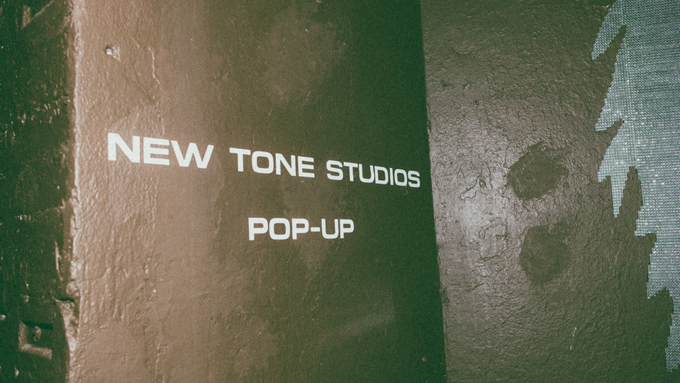 New Tone Studios Pop-Up at MIA.