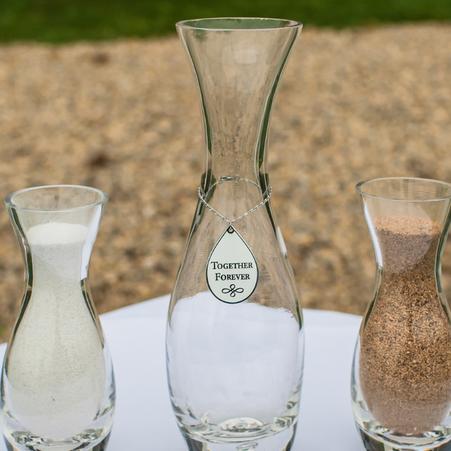 Mini Ceremonies - A Sand Ceremony.