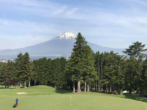 箱根、富士山高爾夫 五天四夜三場球(預約訂金)