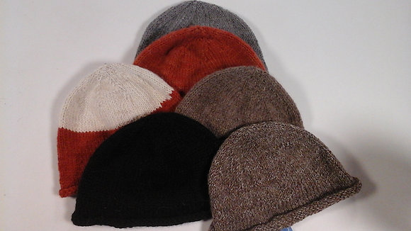 Knitted Cloche Hats