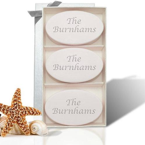 Signature Spa Trio Personalized Soap Gift Set