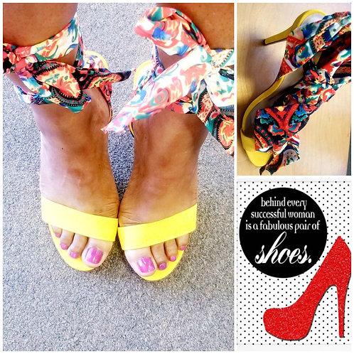 Butterfly / 4 inch heel