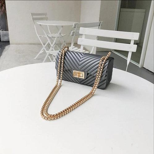 Sleek and chic chain bag
