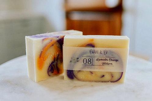 Lavender Orange Blossom Soap - Slices