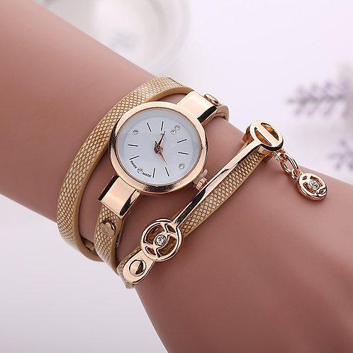 2020 Women Metal Strap Wristwatch Bracelet Quartz Watch