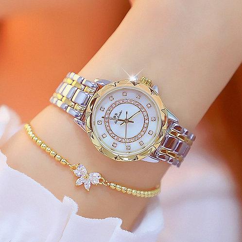 Luxury Brand Fashion Casual Ladies Watch Women Quartz Diamond Lady Bracelet